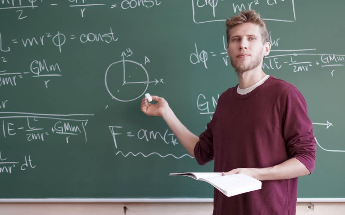 Mündliche Prüfung beim Schulabschluss