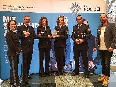 StuzubiStar Bayerische Polizei Preisträger 2020 Ausbildungsmesse München
