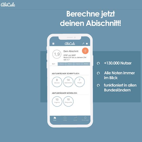 abicalc-App - Abidurchschnitt berechnen 3