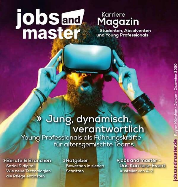 Karrieremagazin der Jobmesse für Young Professionals und Young Talents - jobsandmaster